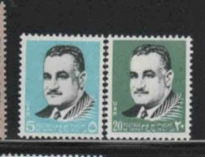 EGYPT #846-847  1970  NASSER     MINT  VF NH  O.G