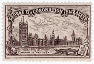 (I.B) Cinderella Collection : George VI Coronation 1937