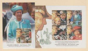 Tuvalu Scott #887-888 Stamps - Mint NH Souvenir Sheet Set