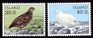 ICELAND B19-20 USED SCV $4.80 BIN $1.95 BIRDS