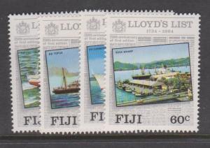 Fiji Sc#509-512 MLH