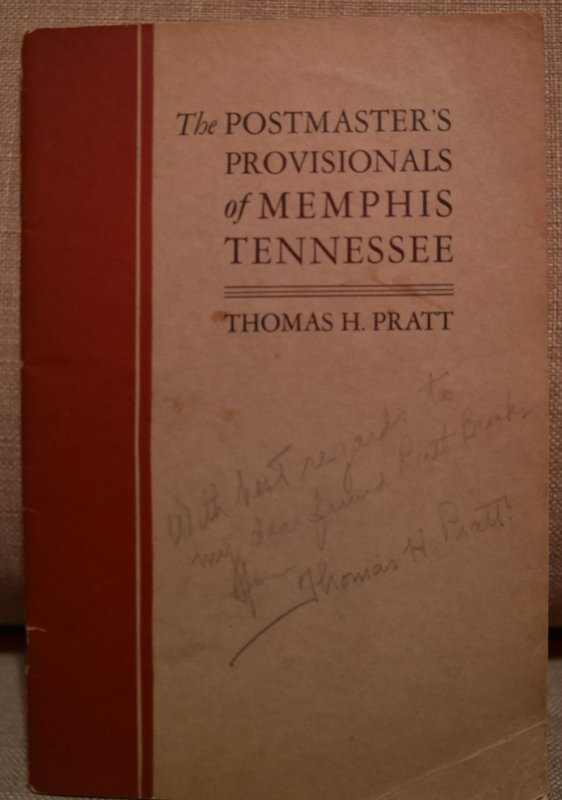 Doyle's_Stamps: The Postmasters Provisionals of Memphis by Thomas Pratt, 1929