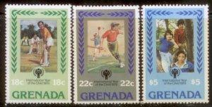 Grenada 1979 SC# 917-9 MNH