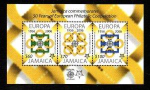 Jamaica-Sc#1015a-Unused NH sheet-Europa anniversary-2005-