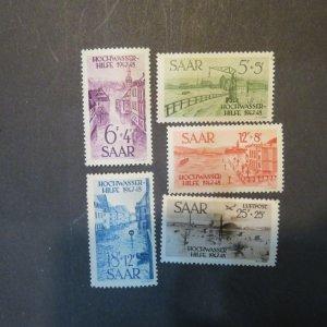 SAAR B61-64, CB1 MINT, OG, NH, VF, Cv $47.50