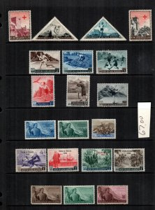 San Marino  20  diff used and mint cat $ 67.00 lot collection