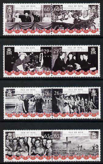 Isle of Man 2005 60th Anniversary of End of World War 2 p...