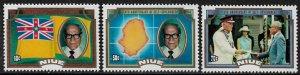 Niue #451-3 MNH Set - Self Government