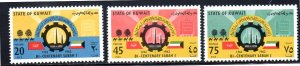 KUWAIT 186-188 MNH SCV $3.35 BIN $1.40 PLACES