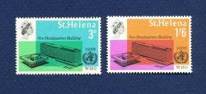 SAINT HELENA - 190-191 - VFMNH - WHO - 1966