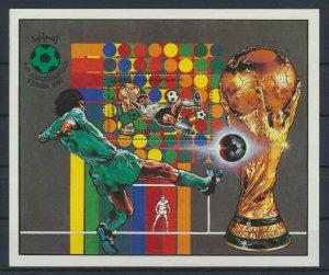 [I504] Lybia 1982 Football good sheet very fine MNH