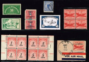 US STAMP BOB, REVENUE, OTHER STAMPS COLLECTION LOT  #4