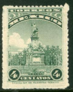 MEXICO 653 4cents COLUMBUS MONUMENT, MINT, NH. F-VF..