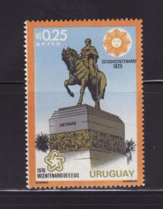 Uruguay C411 MNH American Bicentennial