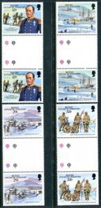 British Antarctic Territory 141-144, MNH Capt. Robert Falcon Scott CVO RN x12406