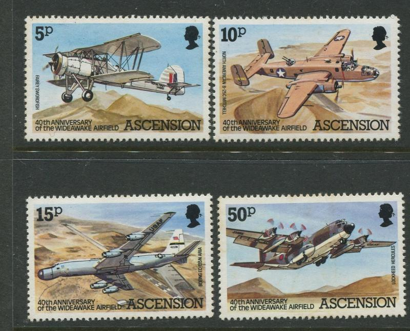 Ascension - Scott 309-312 - General Issue -1982 - MNH - Set of 4 Stamps