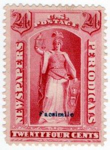 (I.B) US Postal Service : Newspapers & Periodicals Stamp 24c