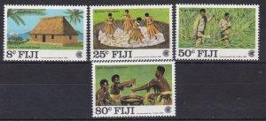 FJ114) Fiji 1983 Commonwealth Day set of 4 & Manned Flights set of 6 MUH
