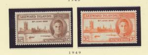 Leeward Island Scott #116 To 117, Mint Never Hinged MNH, Two Stamp Peace With...