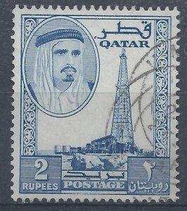 Qatar 1961 - 2r - SG35 used