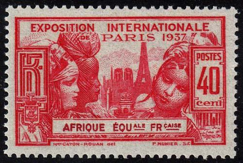 French Equatorial Africa - Scott 29 - Mint-Hinged
