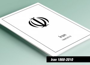 PRINTED IRAN 1868-2010 STAMP ALBUM PAGES (315 pages)
