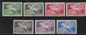 Uruguay C49, C51-52, C54, C56, C58, C60 Pegasus part set MLH