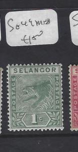 MALAYA SELANGOR  (P0509B)  TIGER]   1C  SG  49   MNH