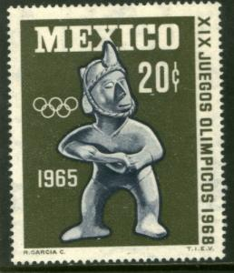 MEXICO 965, 20c BALL PLAYER. 1st Pre-Olympic Issue - 1965. MINT, NH. F-VF.