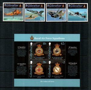 Gibraltar #1329-1333  MNH  $22.00  Stamps + Sheet