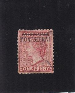 Montserrat: Sc #1, Used (35477)
