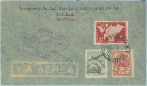 89758 - ARGENTINA - Postal History - FIRST FLIGHT COVER:  FAMA  to PORTUGAL 1946