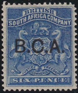 British Central Africa 1891-1895 SC 5 MLH