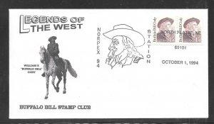 Just Fun Cover #2177 Norplex 94 Station North Platte Ne OCT/1/1994 (my4759)