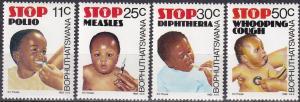 Bophuthatswana #133-6 MNH (A18951)