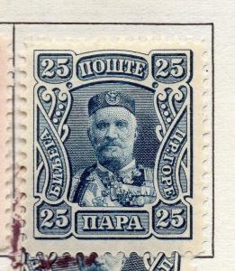 Montenegro 1907 Early Issue Fine Mint Hinged 25p. 182210