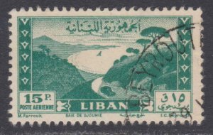 Lebanon Airmail # C146 , Bay of Jounie , F-VF used - I Combine S/H