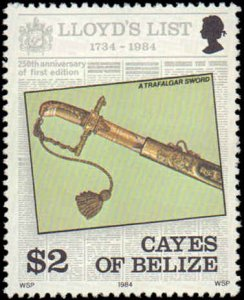 1984 Belize - Cayes of Belize #10-13, Complete Set(4), Never Hinged