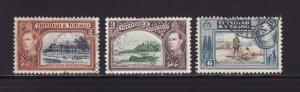 Trinidad and Tobago 51, 52A, 55 U King George VI
