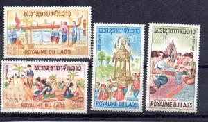 Laos 129-132 MNG