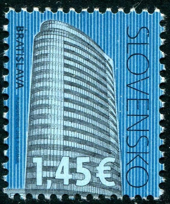 HERRICKSTAMP NEW ISSUES SLOVAKIA Cultural Heritage 2018, Architecture