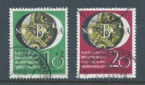 Germany #B318-19 Used Nat'l Philatelic Expo