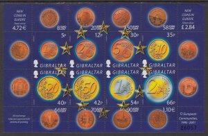 Gibraltar 895 Souvenir Sheet MNH VF