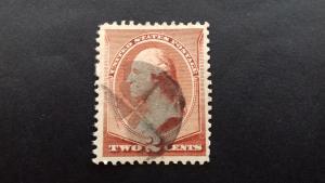 United States George Washington 2 cents Used