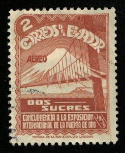 1939, Airmail, San Francisco International Exhibition, 2S, Ecuador (RT-433)
