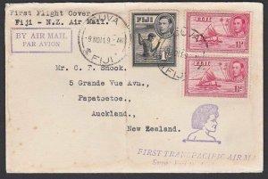 FIJI 1941 First flight cover Suva to Auckland...............................F914