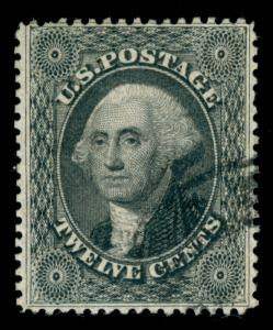 MOMEN: US STAMPS #36 USED VF+