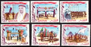 Qatar Sc# 184-189 10th Qatar Boy Scout Jamboree MNH