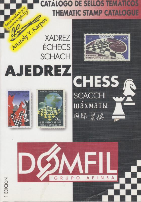 Domfil CHESS Thematic Catalogue, 1st Edition, NEW