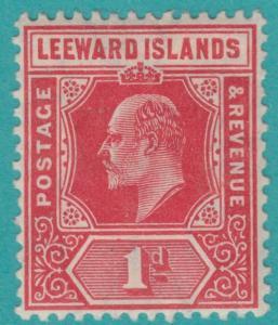 LEEWARD ISLANDS 43 MINT HINGED OG * NO FAULTS  VERY FINE
